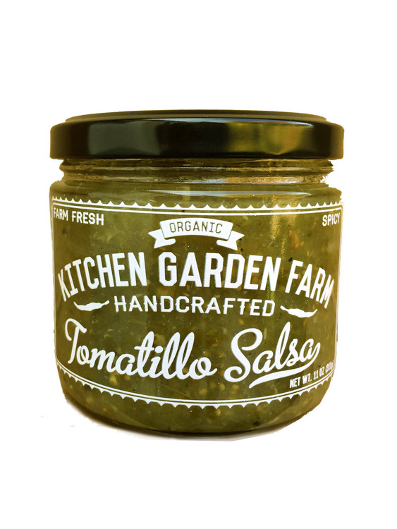 Kitchen Garden Farm - Tomatillo Salsa