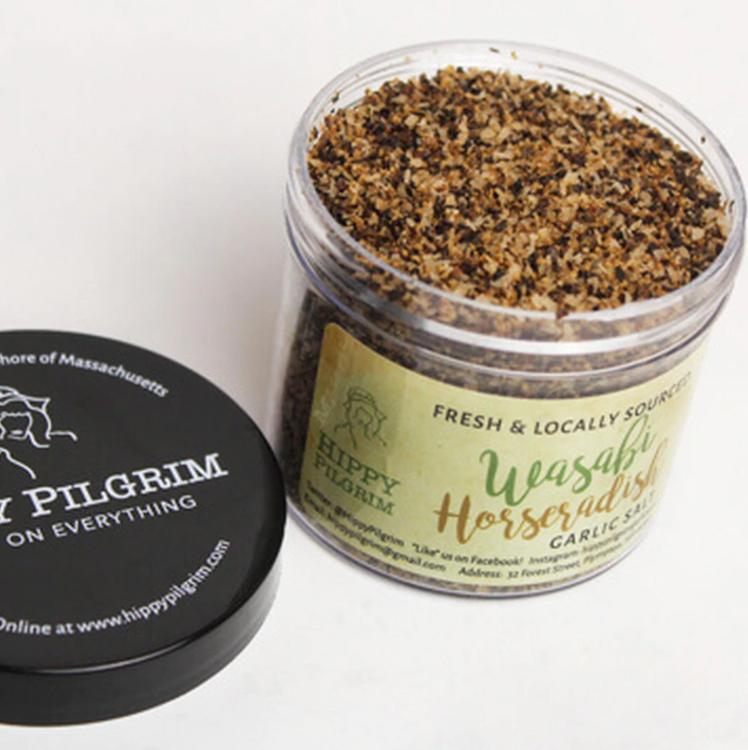 Hippy Pilgrim - Wasabi Horseradish Garlic Salt