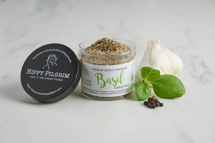Hippy Pilgrim - Basil Garlic Salt