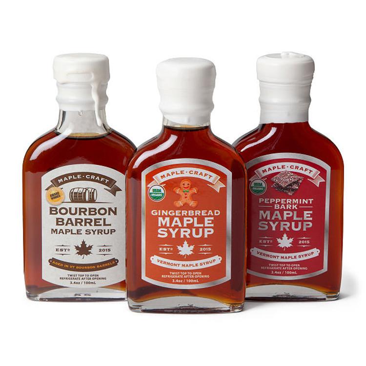 Maple Craft - Winter Season Maple Syrup Gift Set