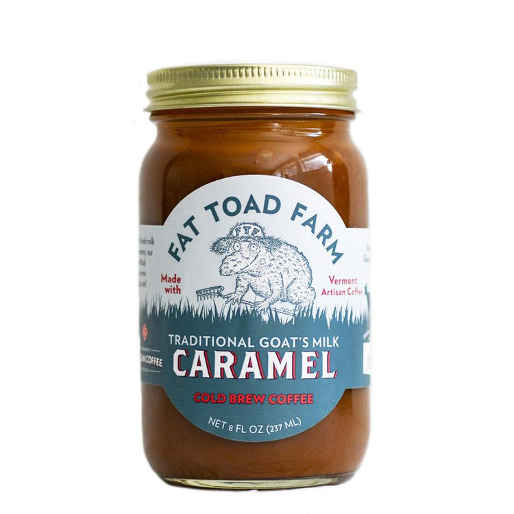 Fat Toad Farm - Cold Brew Coffee Goat's Milk Caramel