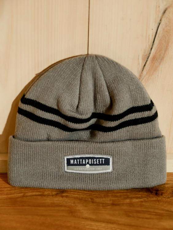 TWGS Logo Cold Weather Knit Hat - Grey