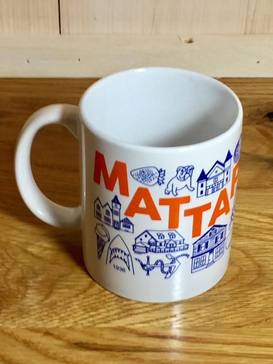 Mattapoisett Map Mug