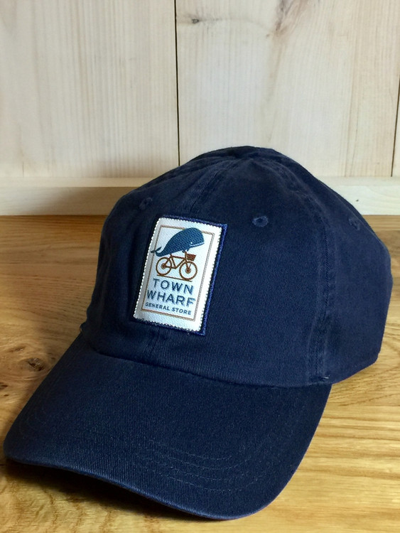 TWGS Logo Patch Baseball Hat - Dark Navy