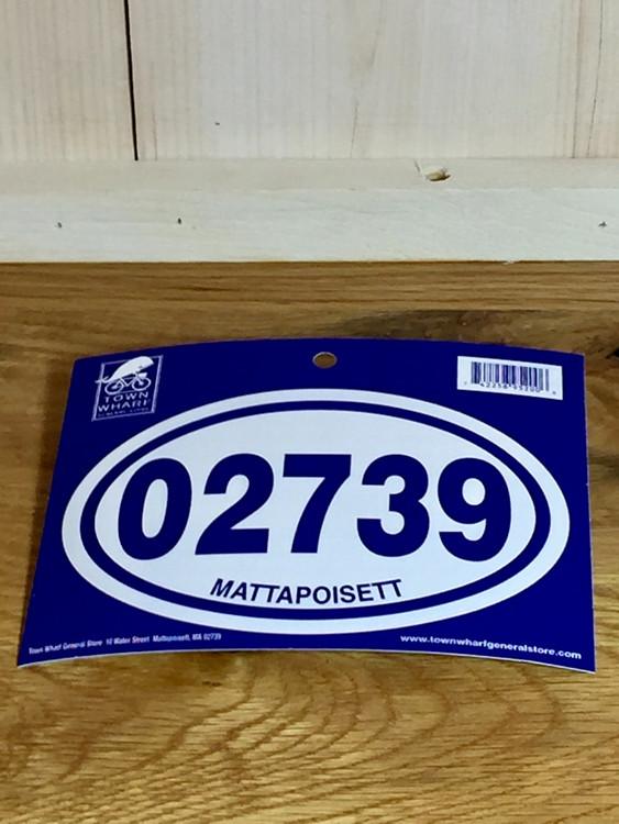 Oval Euro Car Sticker - 02739