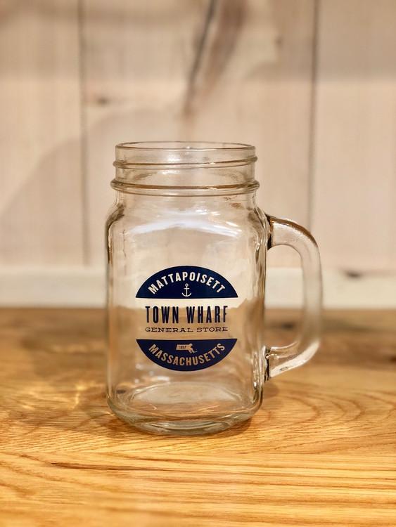 Mattapoisett & Town Wharf General Store Mason Jar Mug