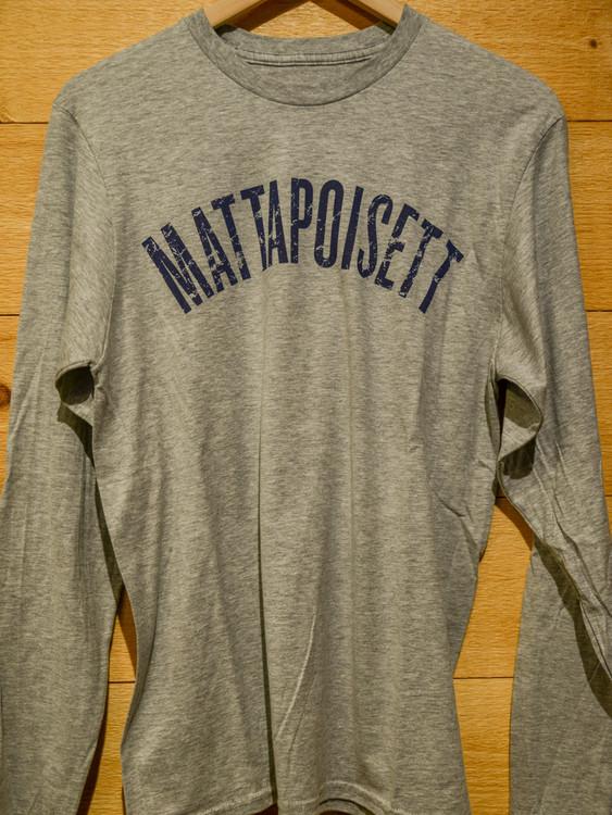 Mattapoisett & TWGS Logo Long Sleeve T-Shirt