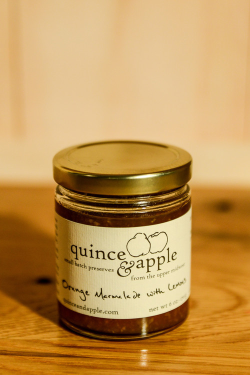 Quince & Apple - Orange Marmalade with Lemons
