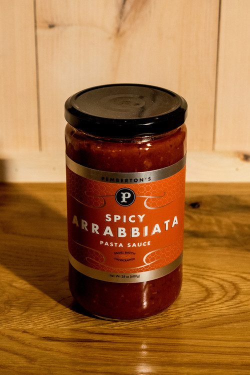 Pemberton's - Spicy Arrabbiata Pasta Sauce
