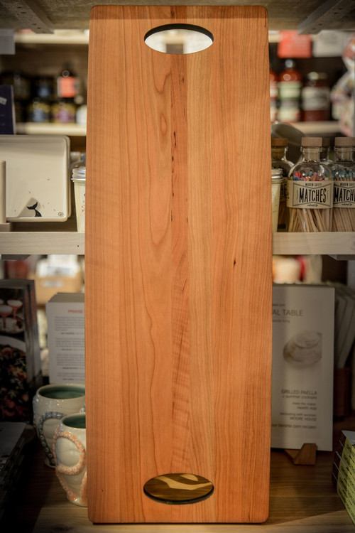 JK Adams - Cherry Cheese Serving Board with Double Handles
