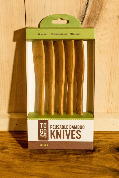 To-Go Ware - Reusable Bamboo Set of 5 Knives