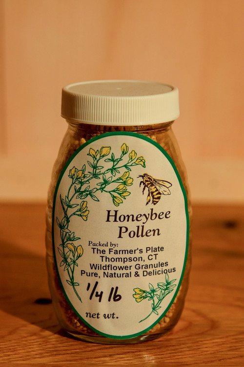 The Farmer's Plate - Honeybee's Pollen (1/4 lb)