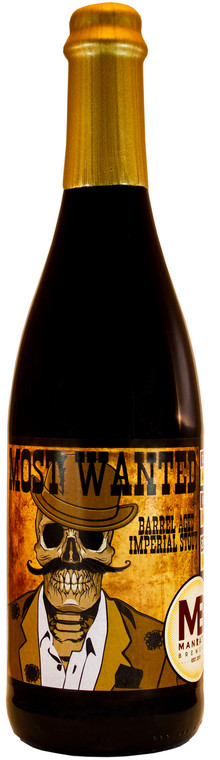 Most Wanted Barrel Aged Imperial Stout
