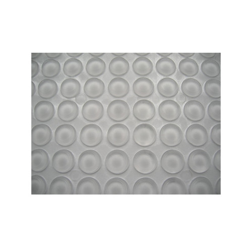 100 Clear Silicone Dots Rubber Feet Door Pad Bumper Damper Self Adhesive 10 x 3mm