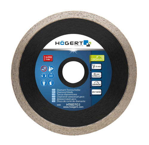 180mm Continuous Diamond Disc Grinder Ceramic Flat Work Grinding