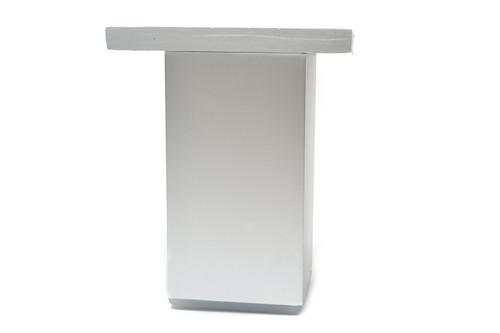 Sofa Plinth Coffe Table Aluminium Leg 100 x 50 mm