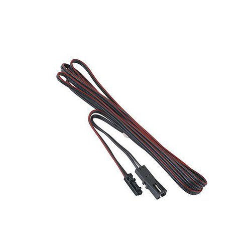 Extension lead for Led Lights miniAMP black 2 meters