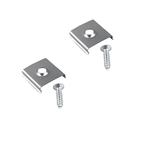 Mounting brackets for aluminium LED profiles