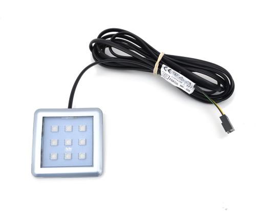 Square RGB LED Light Fixture 1.8W 12V Energy Saving
