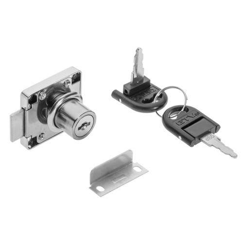 Door Security Cam Lock Cabinet Drawer Cupboard Locker+Keys model: zn138