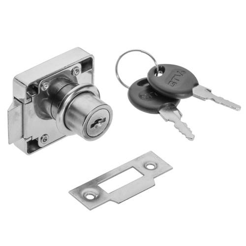 Door Security Latch Lock Cabinet Drawer Cupboard Locker+Keys model: zn338