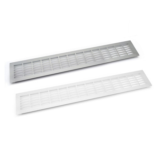 Aluminium Vent Grill Kitchen Plinth / Worktop Heat 480x80mm