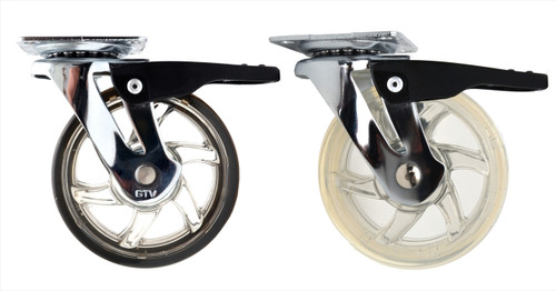 75mm Swivel Castor Wheel Furniture Caster with brake 40kg max