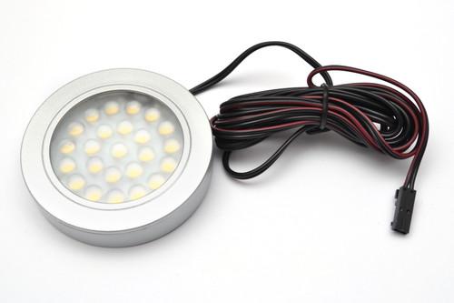 LED Light VASCO 12V 1,7W Surface Aluminium 65mm