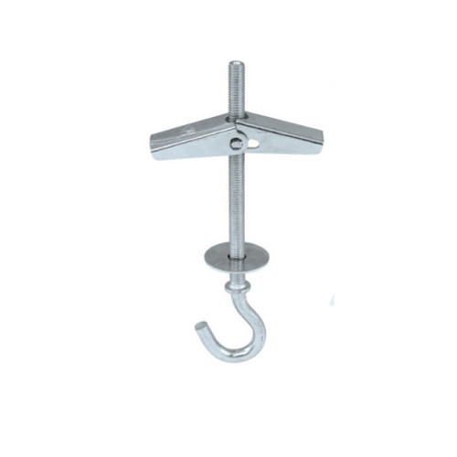 Metal Ceiling Wall Plasterboard Drywall Round Hook Hanger with Spring Toggle Fixing