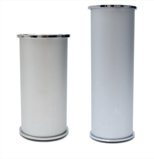 Furniture Leg Foot Round D8679 Aluminium