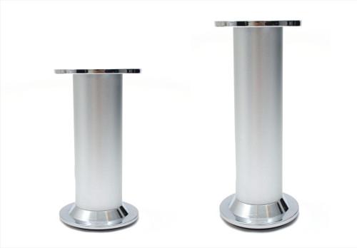 Furniture Leg Foot Round D868 Aluminium