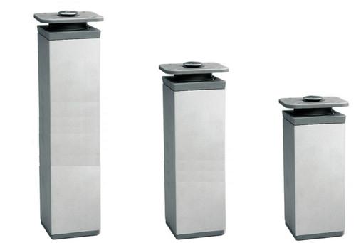 Furniture Leg Foot Square DAK 40mm Aluminium