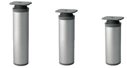Furniture Leg Foot Round DAP 40mm Aluminium