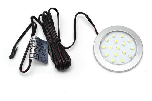 LED Light Orbit 1.5W 12V Surface Aluminium 60x6mm