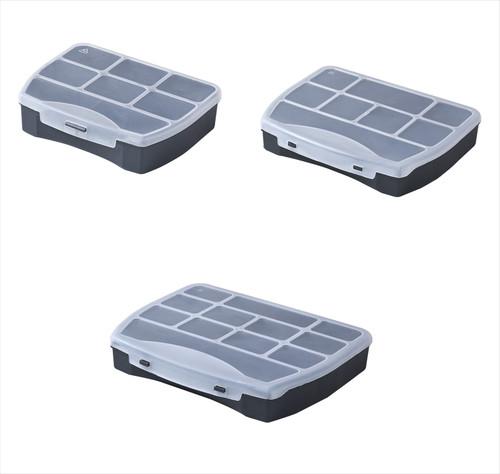 Plastic Container Tool Box Case Organizer Storage Domino