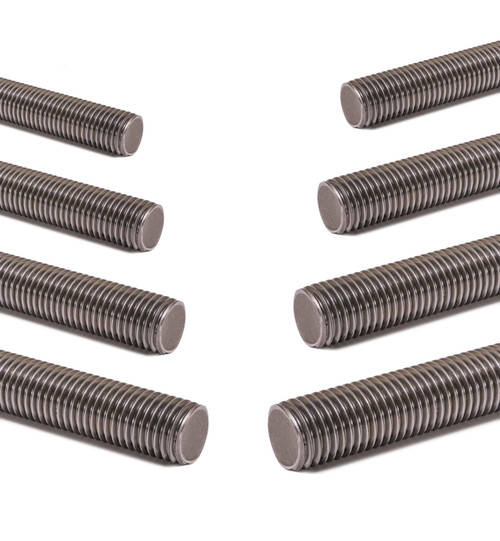 Fully threaded rod zinc plated studding bar 4.8 grade 1000mm