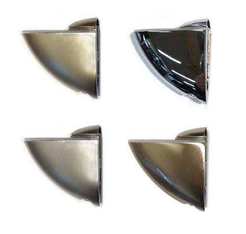 Adjustable Shelf Support Glass Clamp Medium