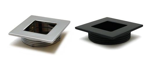 Recessed Flush Sliding Door Handle Pull Square 40x35x10mm