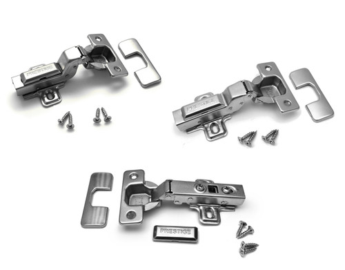 Soft close Prestige 35mm kitchen cabinet door hinge & screws
