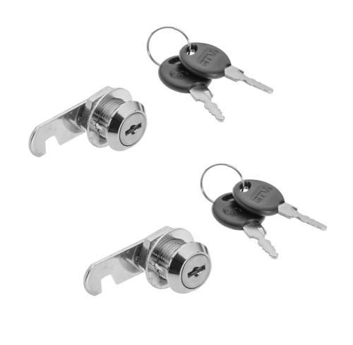 Door Security Cam Lock Cabinet Mailbox Drawer Cupboard Locker+Keys