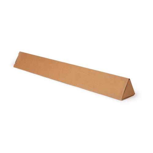 Triangle Postal Cardboard Box Mailing Shipping Carton 100x1100mm Brown