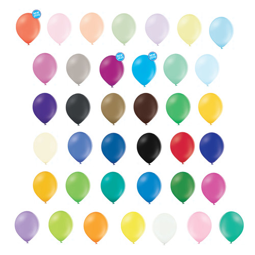 "Latex Pastel Balloons Party Birthday Wedding Ballons 23cm/9"" pack of 10"