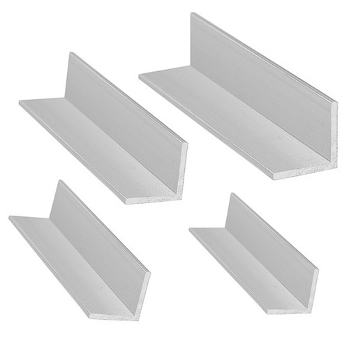 Anodized Aluminum Square Angle Profile Corner Strip Straight Edge