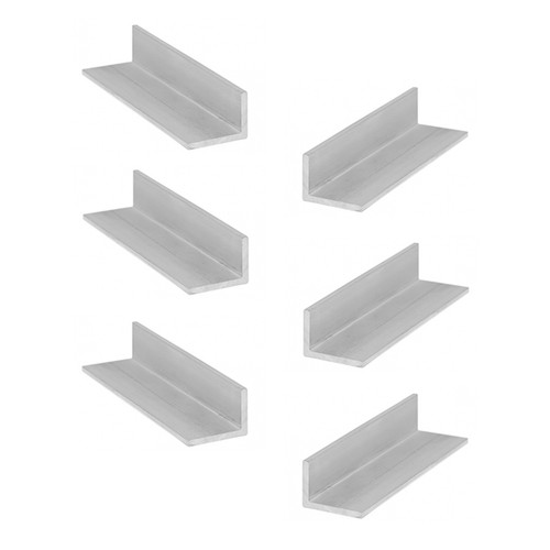 Anodized Aluminum Angle Profile Corner Strip Straight Edge