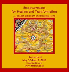 Empowerments for Healing and Transformation - Canada - October 17-20, 2019, a 4 Day Retreat - The Evolution of Consciousness Series