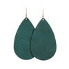 Ivy Suede Leather Earrings | Nickel & Suede
