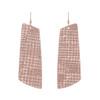 Rose Trellis Gem Leather Earrings | Nickel and Suede