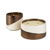 Winter Fir & Clove Holiday Candle | Nickel and Suede