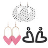 Sugar Rush Leather Earring Set | Nickel and Suede