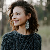 Nickel & Suede | Leopard Leather Earring